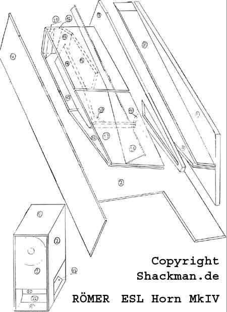 Shackman ESL-98 MHT, The new Shackman electrostatic Speaker, Der