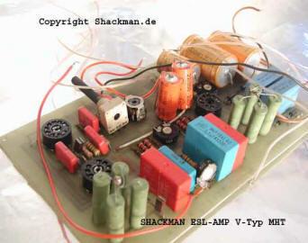 Shackman DIY Electrostatic ESL/ELS Loudspeakers and tweeters  Tube